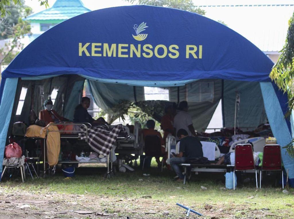 Mensos Jamin Bantuan Gempa Ambon Disalurkan ke Daerah yang Sulit Terjangkau