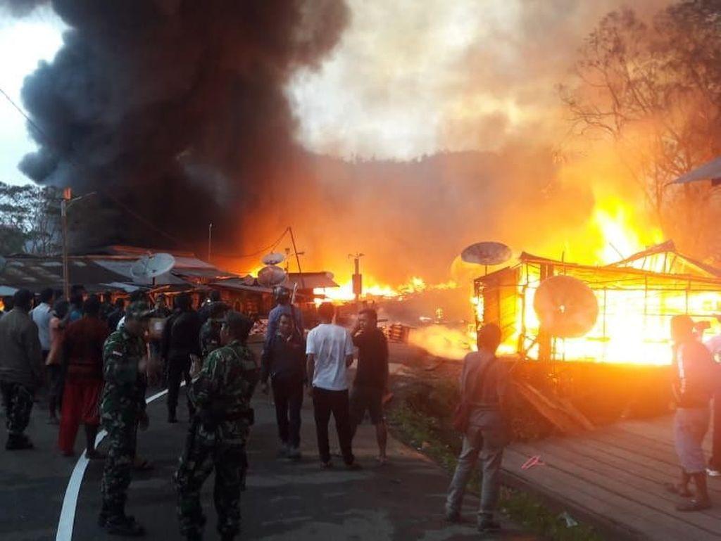 Pelaku Pembakaran Ratusan Kios di Oksibil Papua Ditangkap!