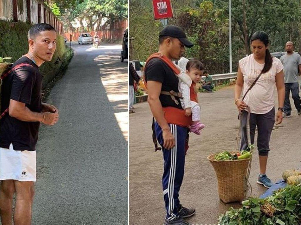 Pasangan Ini Setiap Hari Jalan Kaki 10 KM untuk Belanja Sayuran
