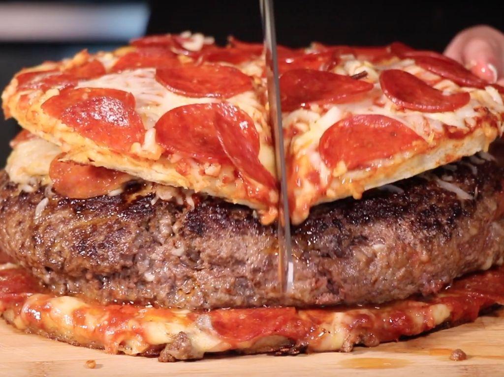 5 Burger Hybrid, Dikawinkan dengan Pizza hingga Pancake