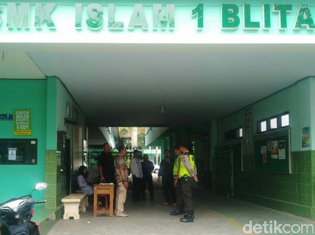 Demo Mahasiswa Blitar, Polisi Sempat Sidak Sekolah