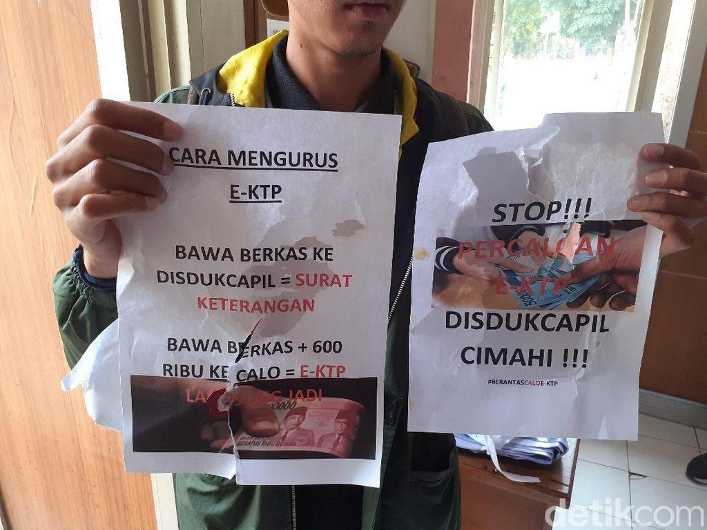 Muncul Selebaran Calo e-KTP Rp 600 Ribu di Kota Cimahi