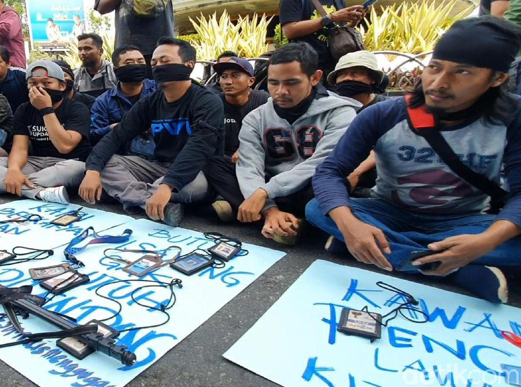Pewarta Sukabumi Kecam Tindakan Represif Polisi ke Jurnalis