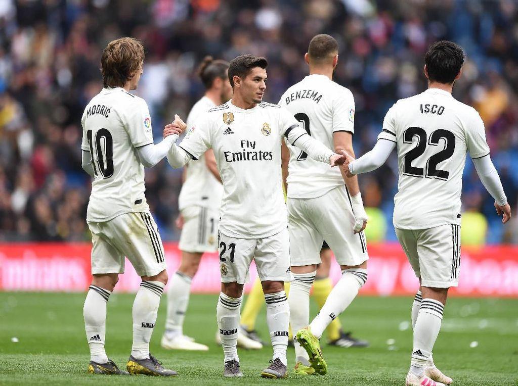 Atletico Vs Madrid: Isco dan Modric Siap Tampil