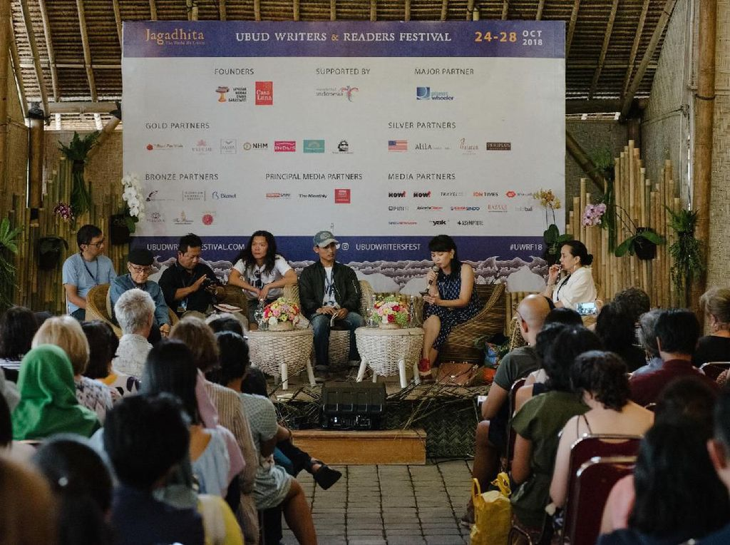 UWRF 2019 Beri Ruang pada Penulis dan Seniman Bali