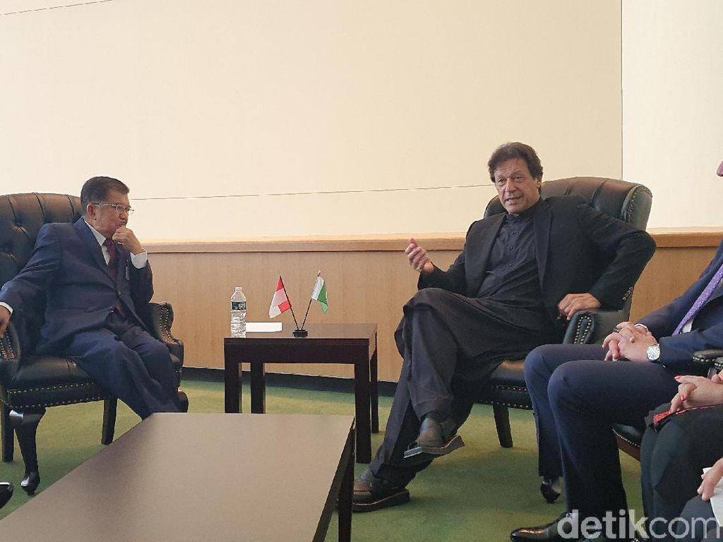 Bertemu PM Pakistan, Wapres JK Bicara Soal Kondisi Afghanistan