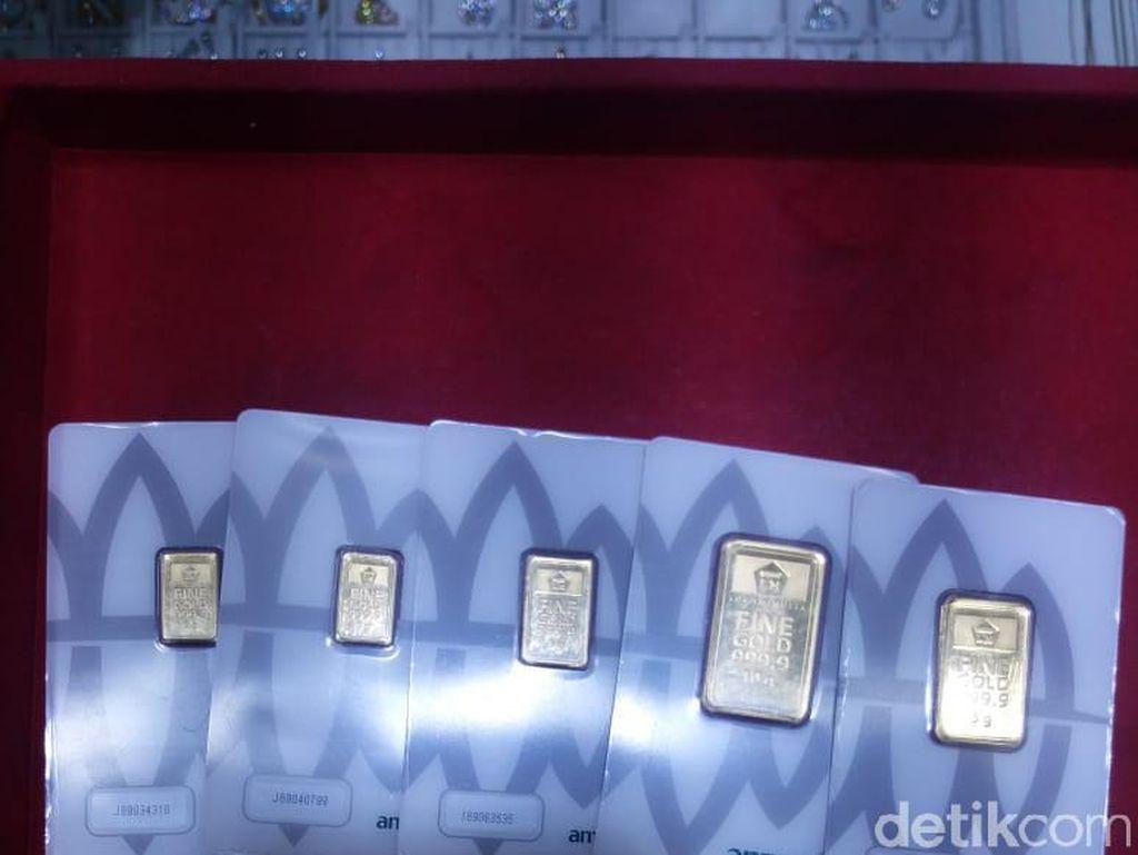 Beli 10 Gram Emas Antam Awal Tahun, Jual Hari Ini Untung Rp 200.000