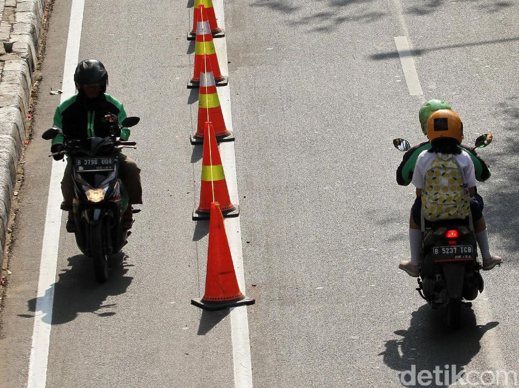 Agar Jalur Sepeda Tak Diserobot Pemotor
