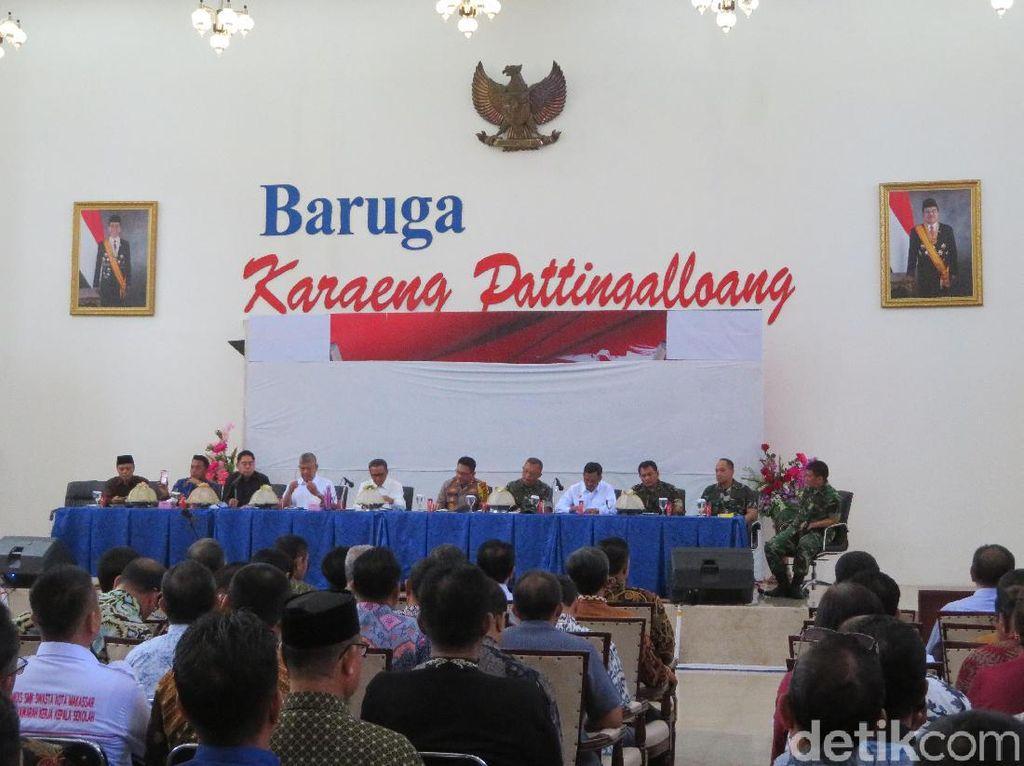 Sikapi Unjuk Rasa di Makassar, Gubernur Sulsel Kumpulkan Kapolda-Rektor