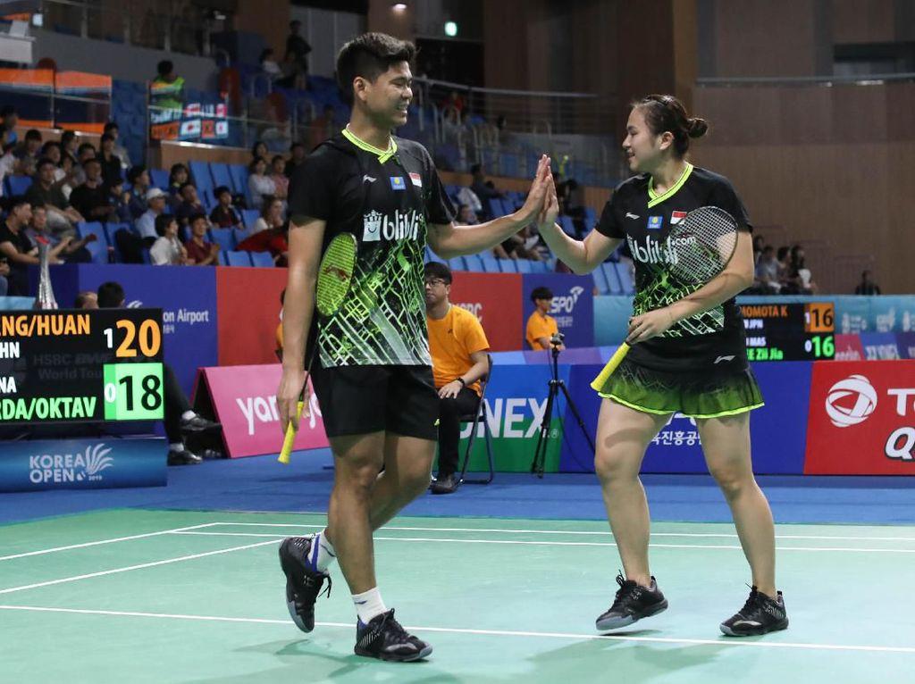 Praveen/Melati dan Vito Angkat Koper di Perempatfinal Korea Open