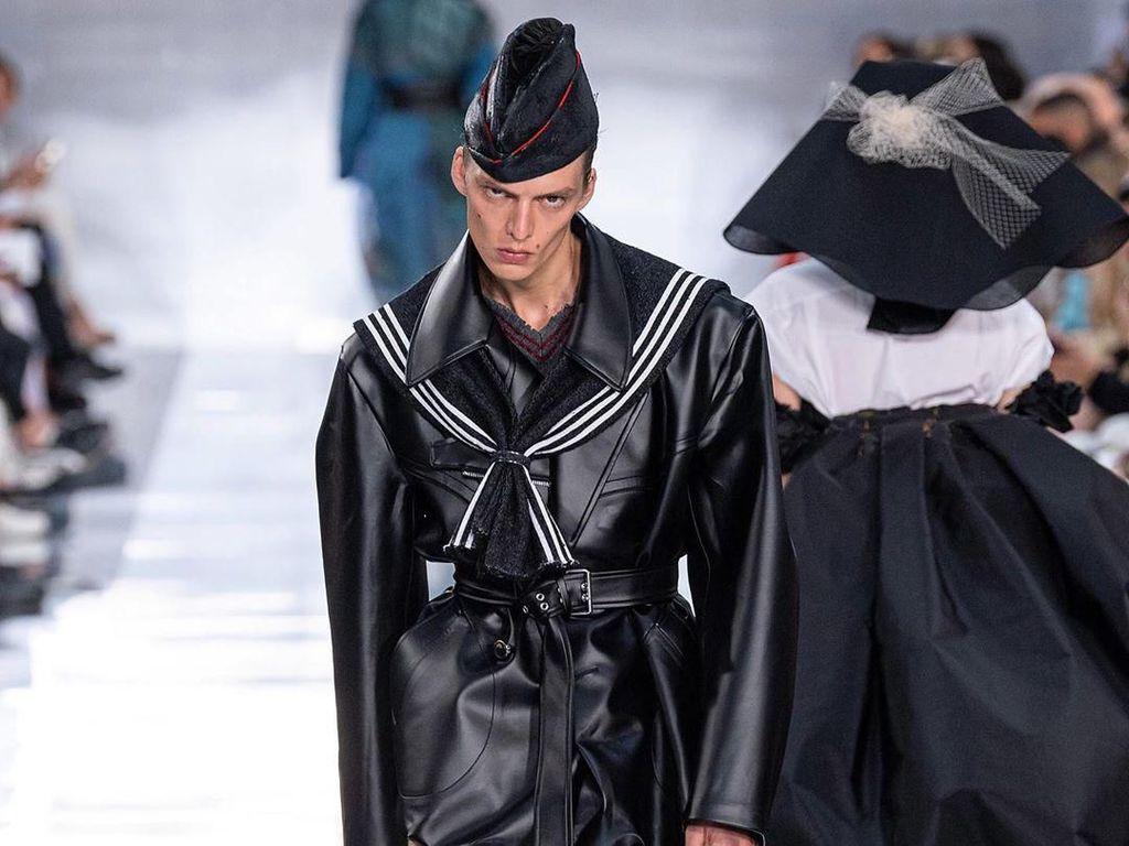 Ini Leon Dame, Model yang Viral karena Melotot di Paris Fashion Week