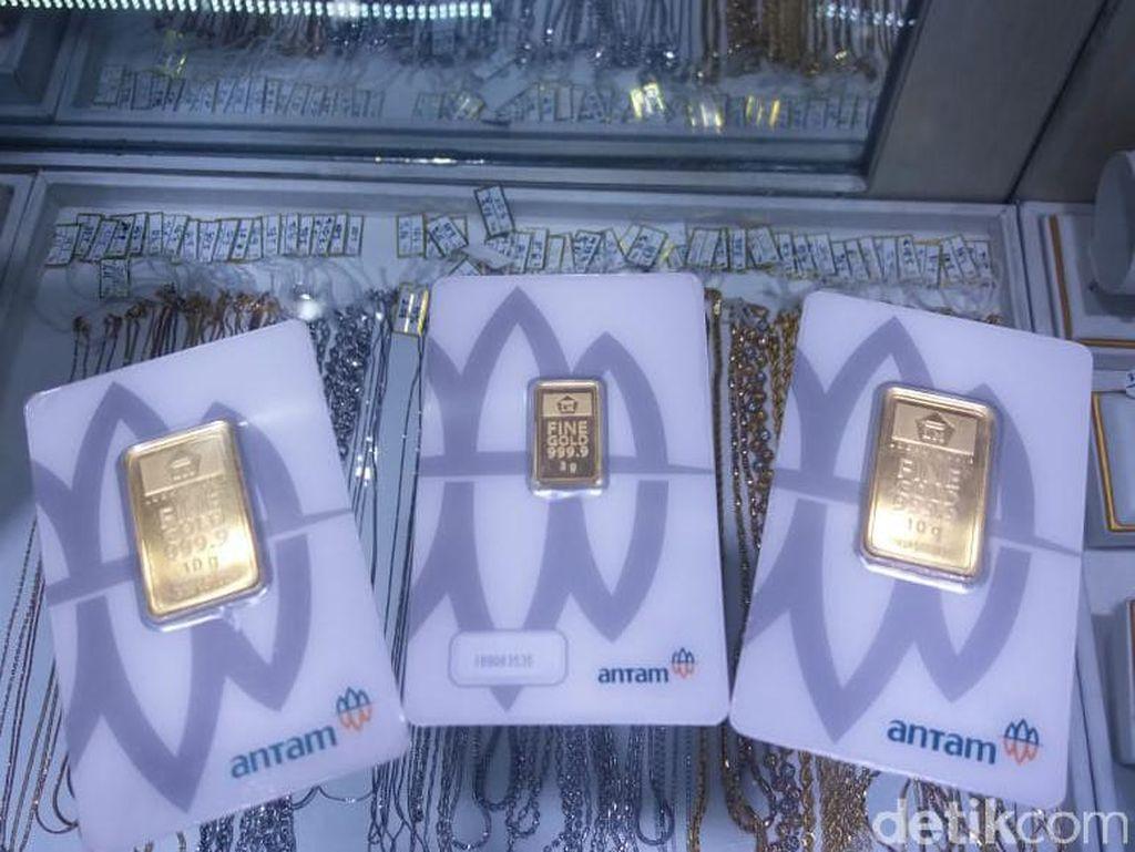 Di Pasar Ini, Harga Emas Antam Tembus Rp 762.000/Gram