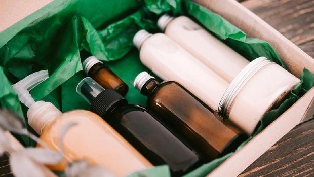 Ilustrasi produk skin care