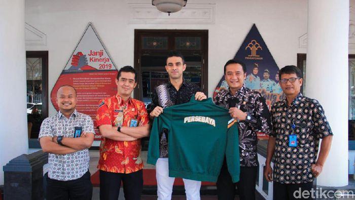 Otavio Dutra disumpah jadi WNI hari ini di Surabaya (Deny Prasetyo Utomo/detikSport)