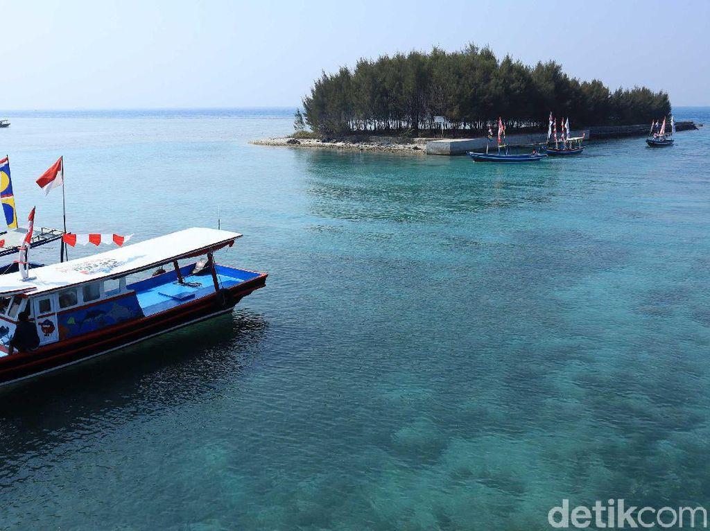 Mau Weekend Getaway? Lihat Laut Jernih di Kepulauan Seribu Saja