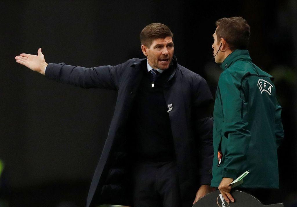 Steven Gerrard yang kini sedang menjabat sebagai manajer Rangers