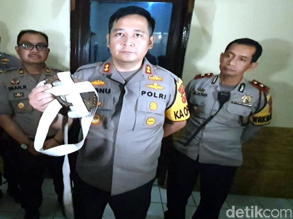Niat Demo ke Jakarta, 5 Pelajar SMP Sukabumi Bawa Gir