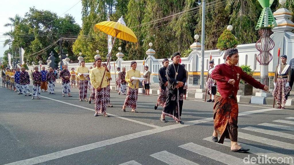 Momen-momen Penyucian Ribuan Benda Pusaka di Purworejo