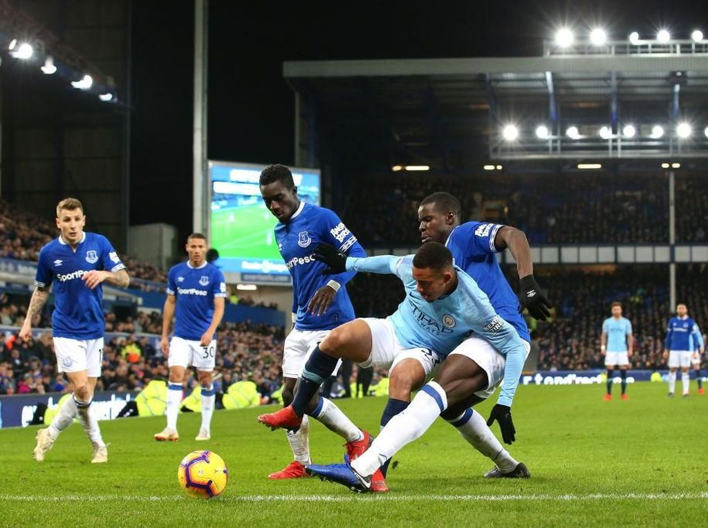 Link Live Streaming Everton Vs Manchester City
