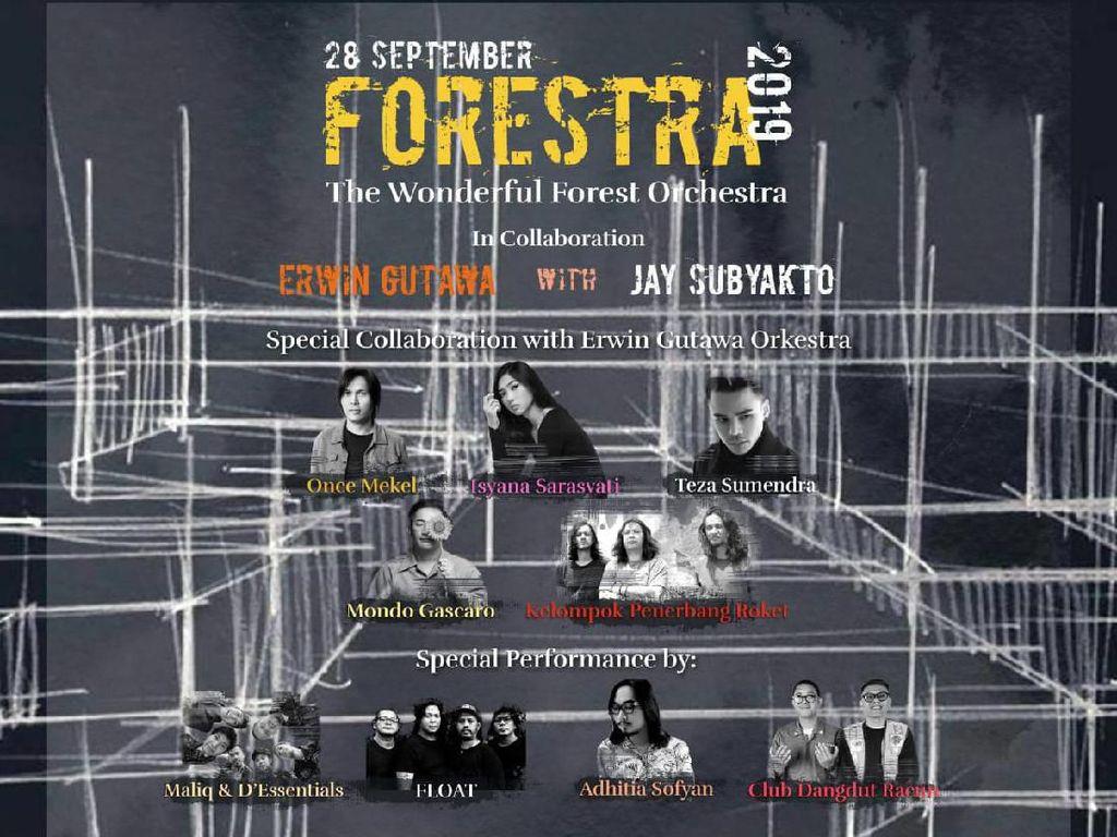 Isyana Sarasvati dan Once Siap Bersenandung di Forestra 2019