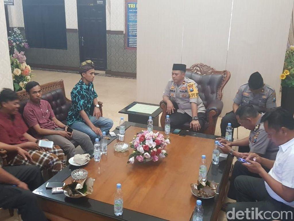 Ini Pesan Polisi ke Mahasiswa Agar Peristiwa Kendari Tak Terulang di Jombang