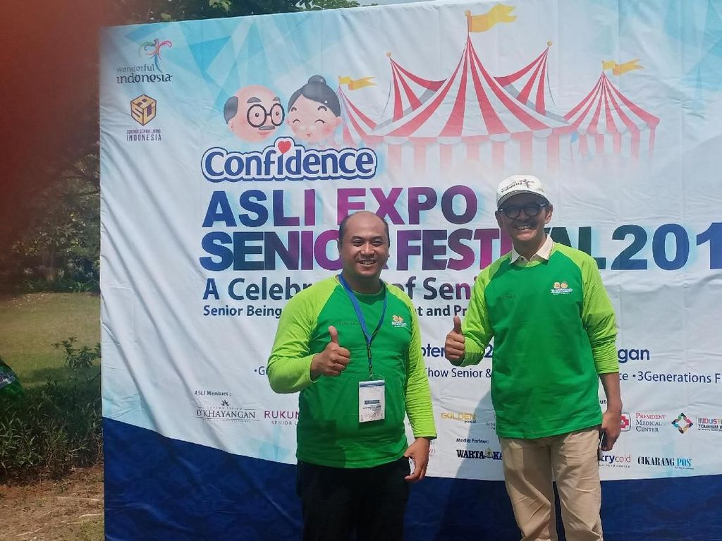 Manjakan Lansia, Senior Living DKhayangan Gelar ASLI Festival