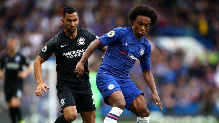 Chelsea menang 2-0 atas Brighton di Stamford Bridge. (Foto: Julian Finney/Getty Images)
