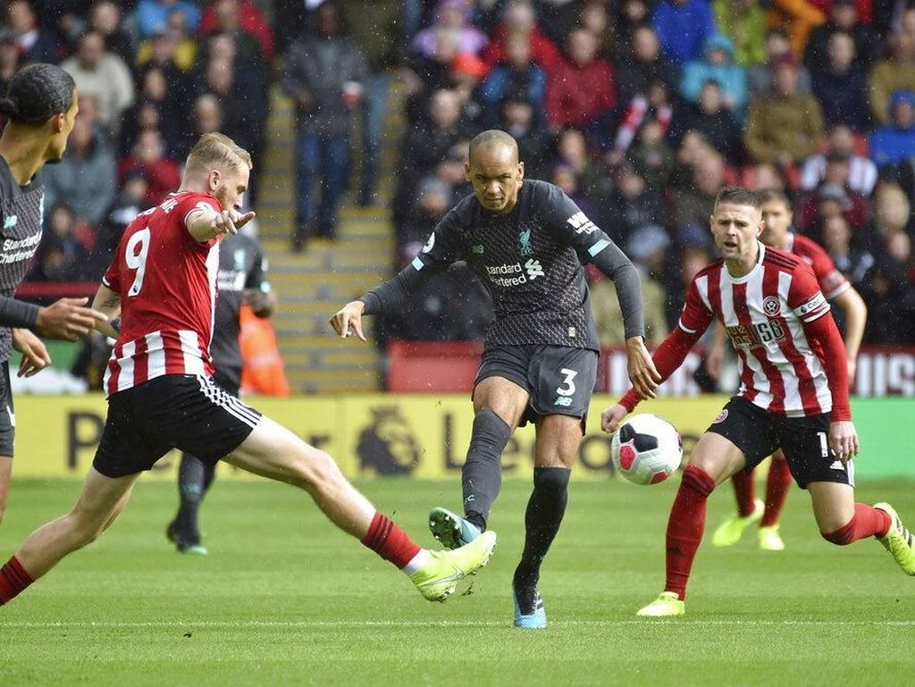 Sheffield Redam Liverpool Tanpa Gol di Babak Pertama