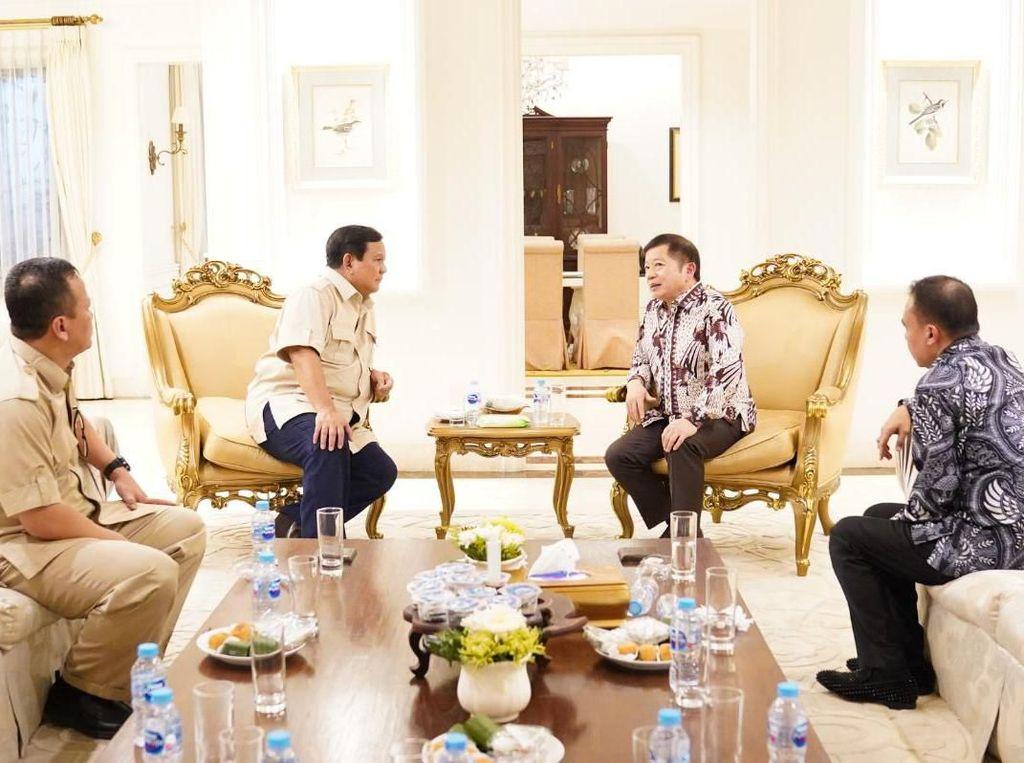 Prabowo Bertemu Suharso, Sampaikan Usul Program untuk Periode Kedua Jokowi