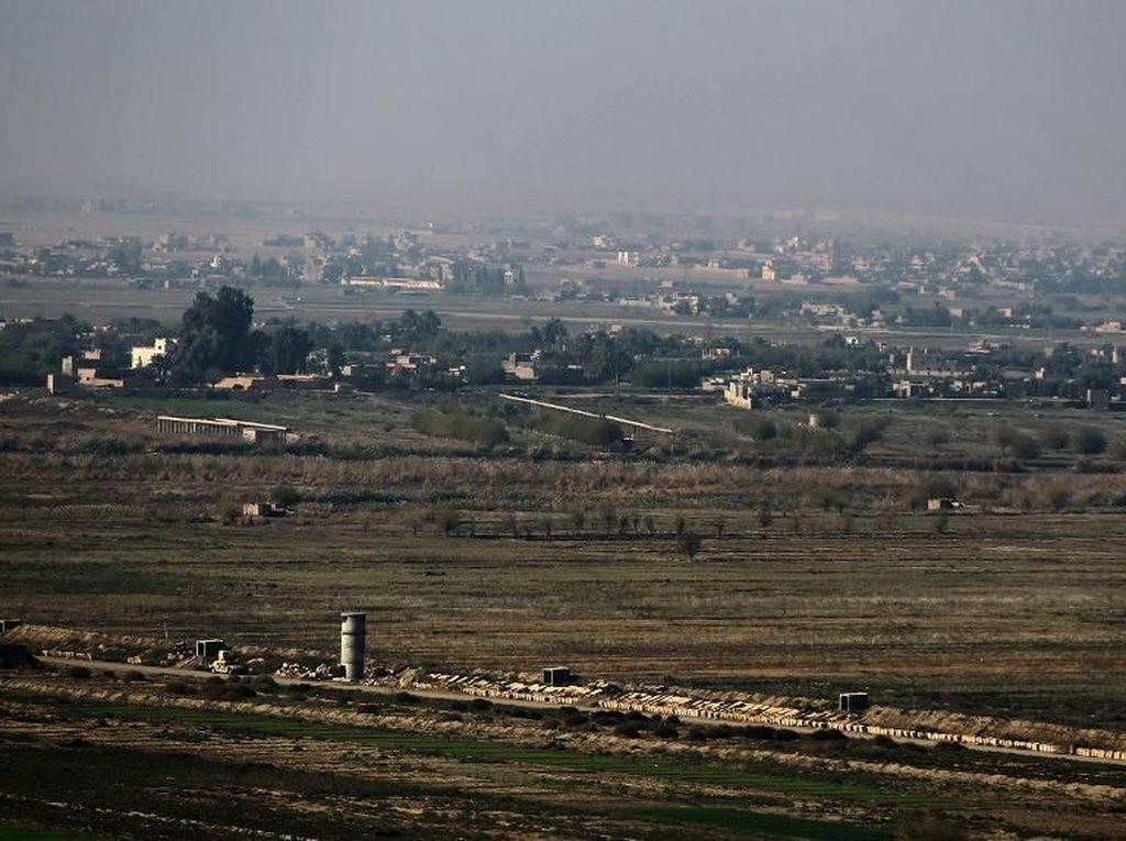 Irak Buka Kembali Perlintasan Perbatasan dengan Suriah 30 September