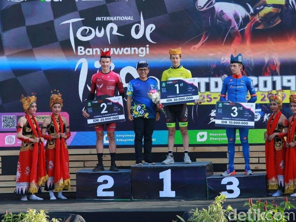 Pebalap Sepeda Australia Juarai Tour de Banyuwangi Ijen 2019