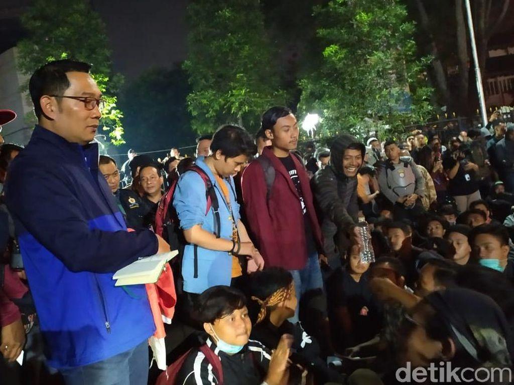 Pesan Ridwan Kamil bagi Pedemo: Jangan Anarkis dan Destruktif