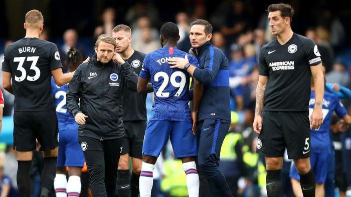 Chelsea menang 2-0 atas Brighton di pekan ketujuh Liga Inggris. (Foto: Julian Finney/Getty Images)