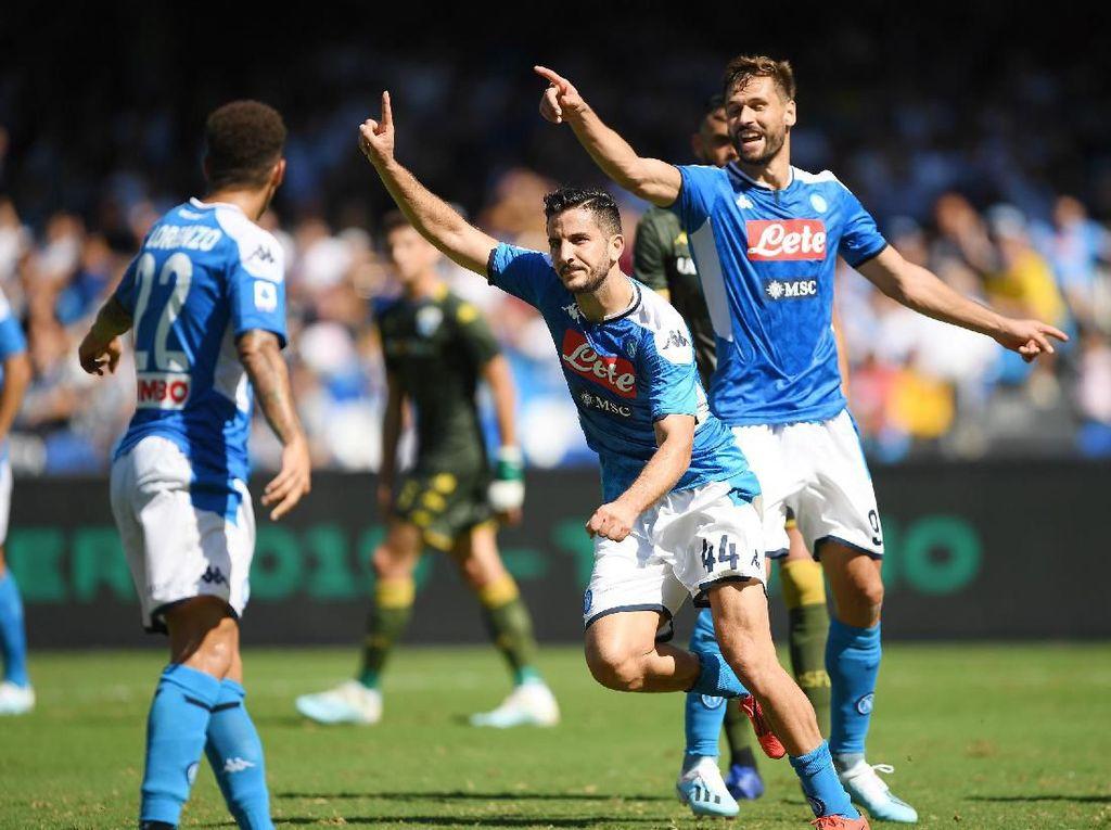 Napoli Vs Brescia: Partenopei Menang Tipis 2-1