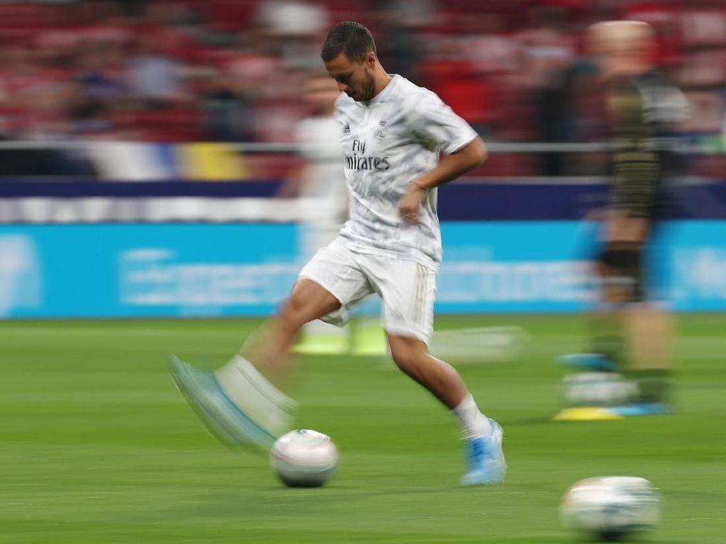 Eden Hazard Masih Redup di Real Madrid