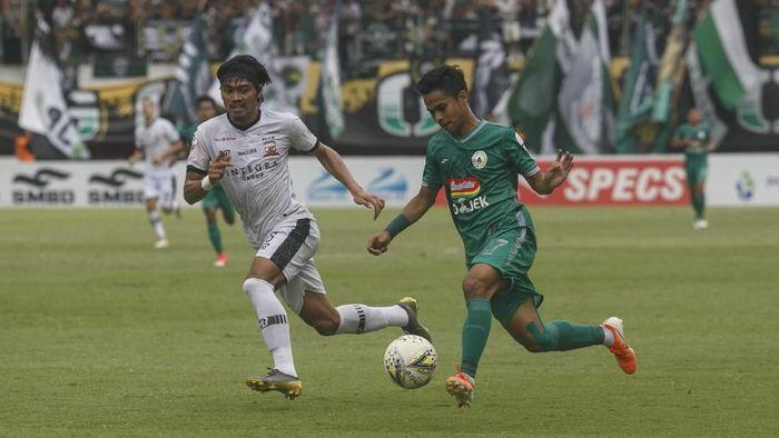 Madura United mensyukuri hasil imbang 2-2 dengan PSS Sleman. (Foto: Hendra Nurdiyansyah/Antara)
