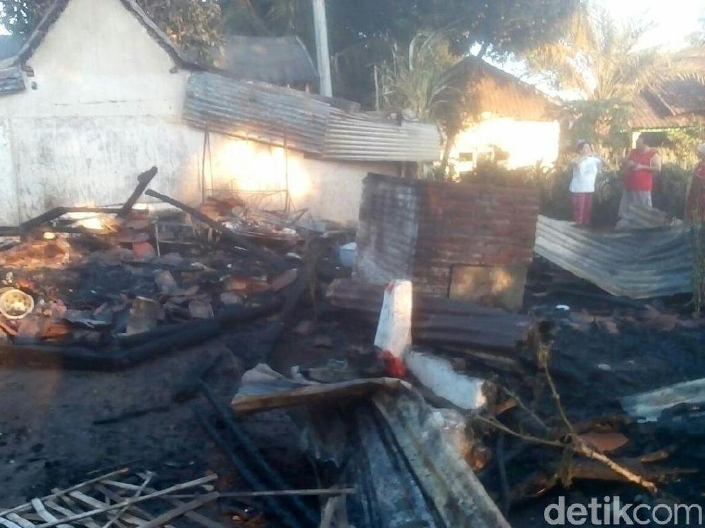 Rumah Warga di Situbondo Ludes Terbakar, Satu Orang Terluka