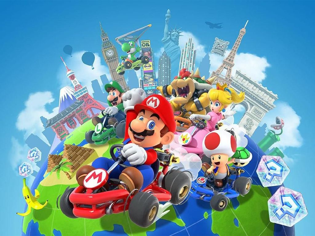 Nintendo Hadirkan Mode Multiplayer untuk Mario Kart di iOS