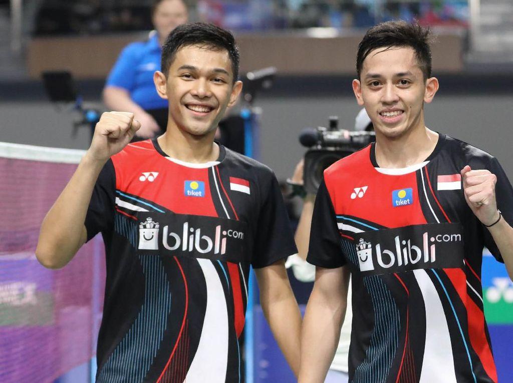 Ikut YUZU Indonesia Masters, Fajar/Rian Perebutkan USD 75 Ribu