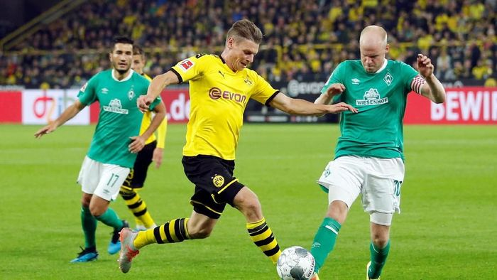 Borussia Dortmund berimbang 2-2 dengan Werder Bremen. (Foto: Leon Kuegeler/REUTERS)