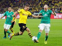 Hasil Liga Jerman: Dortmund Berimbang 2-2 dengan Werder Bremen