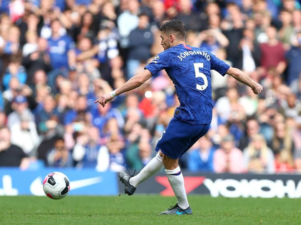 Lampard: Jorginho Eksekutor Penalti Pertama Chelsea