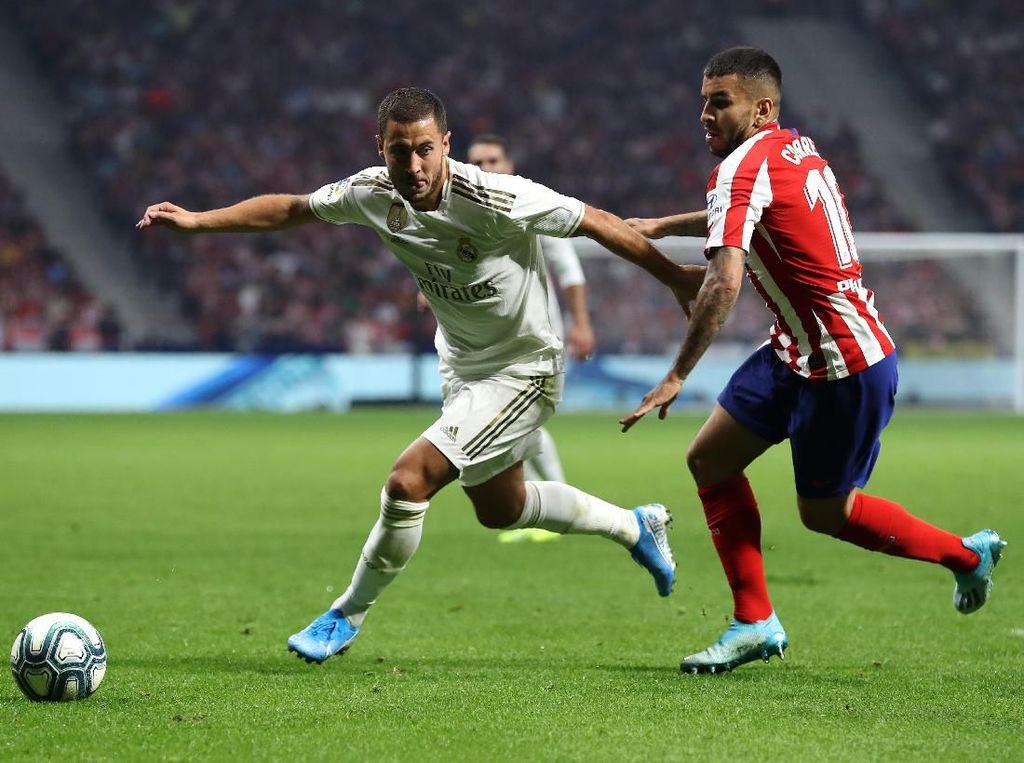 Atletico Vs Madrid: El Derbi Madrileno Berakhir Tanpa Pemenang
