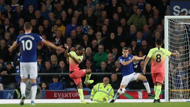 Man City Bekuk Everton 3-1 di Goodison Park