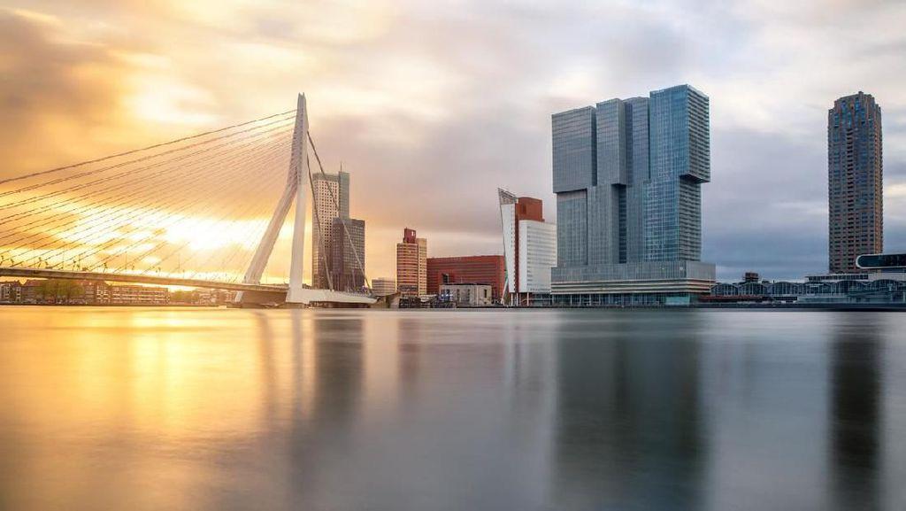 Potret Rotterdam yang Mencakar Langit Belanda
