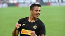 Gol Perdana Alexis Sanchez Tercoreng Kartu Merah