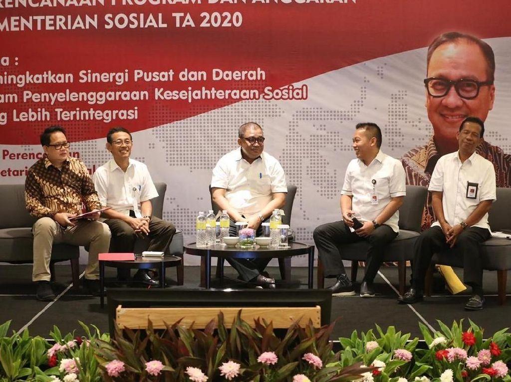 2020, Kemensos Fokus Siapkan Kartu Sembako dan Penurunan Stunting