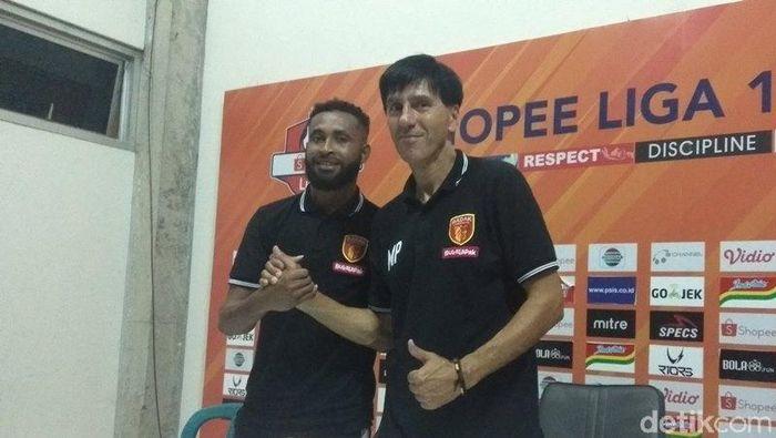 Milan Petrovic puas PSIS Semarang vs PErseru Badak Lampung FC selesai 0-0. (Foto: Eko Susanto/detikcom)
