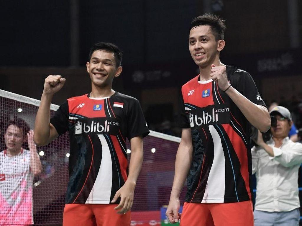Video: Kalahkan Pasangan Jepang, Fajar/Rian Juara Korea Open