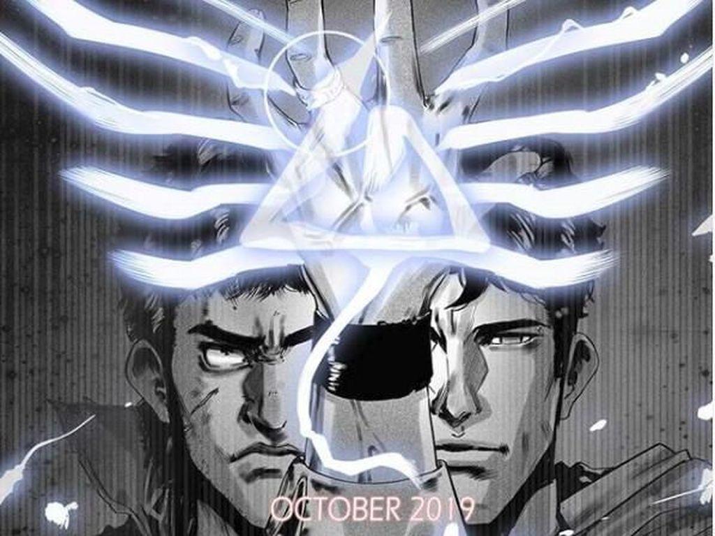 Komik Digital Godam Putih Hitam Terbit Perdana 17 Oktober